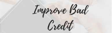 improve bad credit